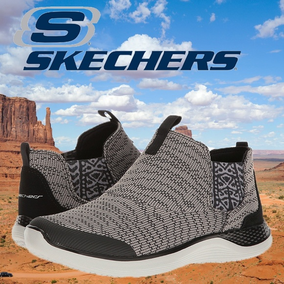 Skechers Women's Knit Orbit Slip On Pull on Shoe NWT